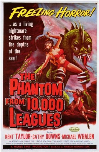 The Phantom From 10,000 Leagues Movie Poster (11 x 17) KH63B1YTCKAV7CHM