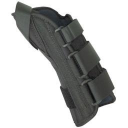 Fabrication Enterprises 24-4577R 8 in. Soft Wrist Splint Right, 6.5 to 8 in. with Abducted Thumb - Medium