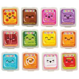 Wacky Whiffs Scented Kneaded Eraser  - 72 Countp