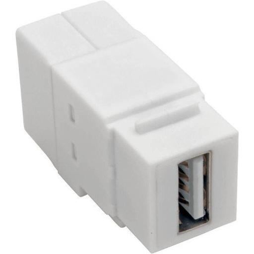 Tripp lite u060-000-kp-wh usb 2.0 panel mount coupler