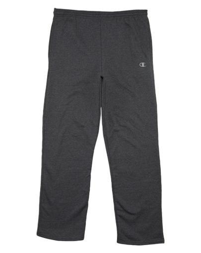Champion Open Bottom Side Pockets Eco Fleece Sweatpants Mens Style: P2469 U35MJ3SFZTTFVAKM