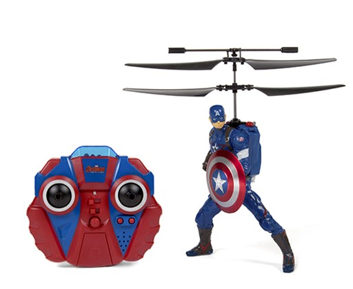 Marvel Comics Licensed Avengers: Age Of Ultron Captain America Helicopter 146783
