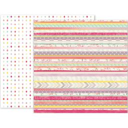 American Craft Pk Paislee Take Me Away Collection 12 X 12 Double Sided Paper 19