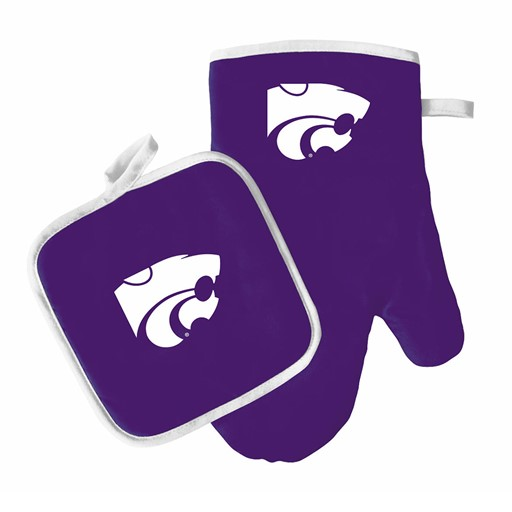 NCAA Kansas State Wildcats Sports Team Logo Oven Mitt And Pot Holder