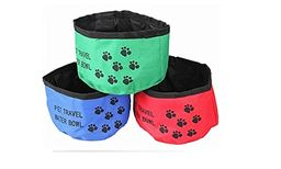 Z-Comfort New Premium Collapsible Food and Water Bowl for Pets