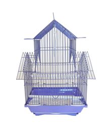 YML A1144PUR Pagoda Top Bird Cage Small - Purple
