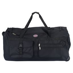 36 Rolling Wheeled Tote Duffle Bag Travel Suitcase""