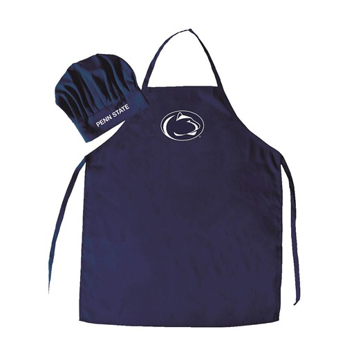 Sports Team Logo NCAA Penn State Nittany Lions Chef Hat And Apron