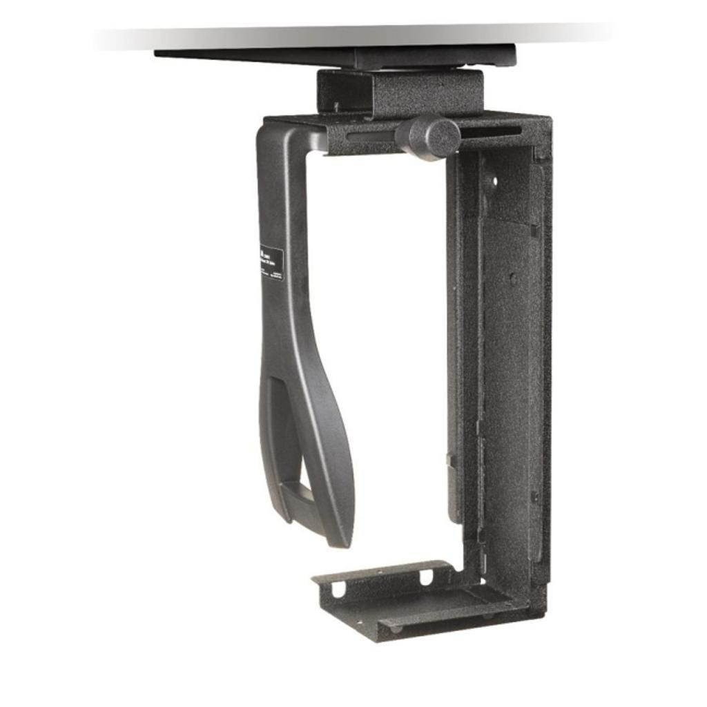 3m - workspace solutions cs200mb under desk cpu holder black