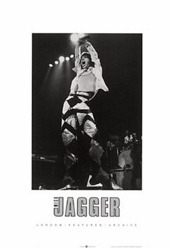 Mick Jagger, On Stage Poster Print (20 x 28) 1625032