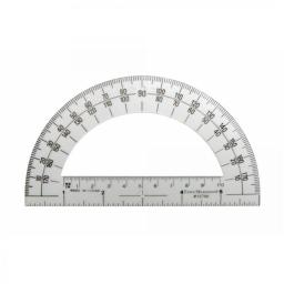 American Educational 7-1317 Student Protractor - Clear