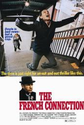 The French Connection Movie Poster Print (27 x 40) MOVIF0398