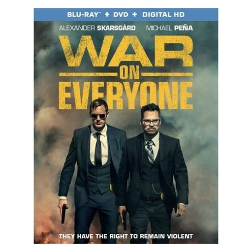 War on everyone (blu ray/dvd w/dig hd) (ws/eng/span sub/eng sdh/5.1 dts-hd) UNL1FWGLJQV23USK