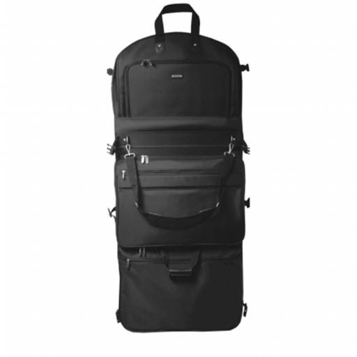 WallyBags 2050Black 52 in. GarmenTote Tri-Fold with Shoulder Strap 3FD428C250DFFBFA