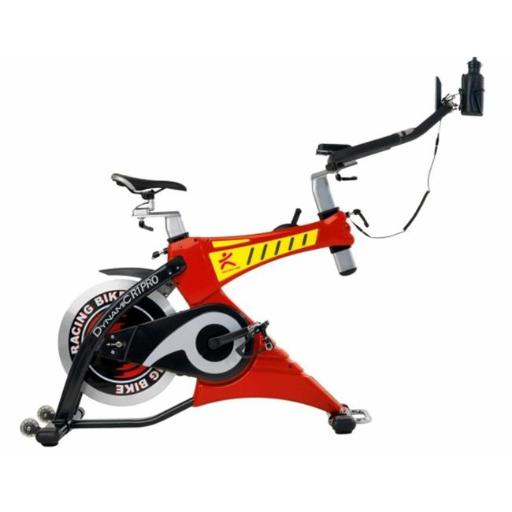 Dynamic Fitness Dynamic SPK-21M Indoor Cycling Bike, Red & Black