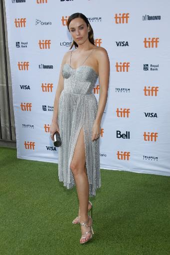 Jessica Mcnamee At Arrivals For Battle Of The Sexes Premiere At Toronto International Film Festival 2017, Ryerson Theatre, Toronto, On September.