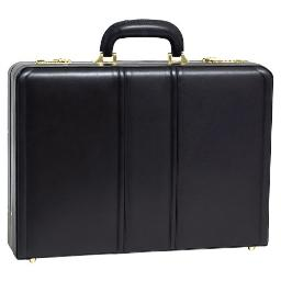 Mcklein company llc 80465 coughlin black leather attache 80465