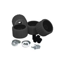Ce Smith Ribbed Roller Replacement Kit 4 Pack Black 29210