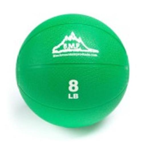 Black Mountain Products BMP Medicine 8 Professional Medicine Ball, Green