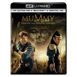 Mummy-tomb of the dragon emperor (blu-ray/4kuhd/ultraviolet/digital hd) BR61185683