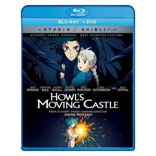Howls moving castle (blu ray/dvd combo) (2discs/1.85:1/eng/eng sdh/french) KPIMUULUNEACBPSK