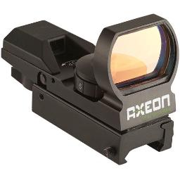 Axeon 2218637 axeon reflex sight w/4 red or green changable reticles