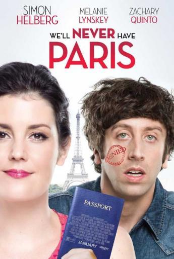 We'll Never Have Paris Movie Poster (11 x 17) NEW74KVGEFADQAPG