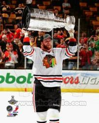 Bryan Bickell with the Stanley Cup Game 6 of the 2013 Stanley Cup Finals Sports Photo PFSAAQA03901