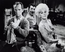 Publicity still of Kim Novak, Dean Martin and Ray Walston in Kiss Me, Stupid Photo Print GLP367355