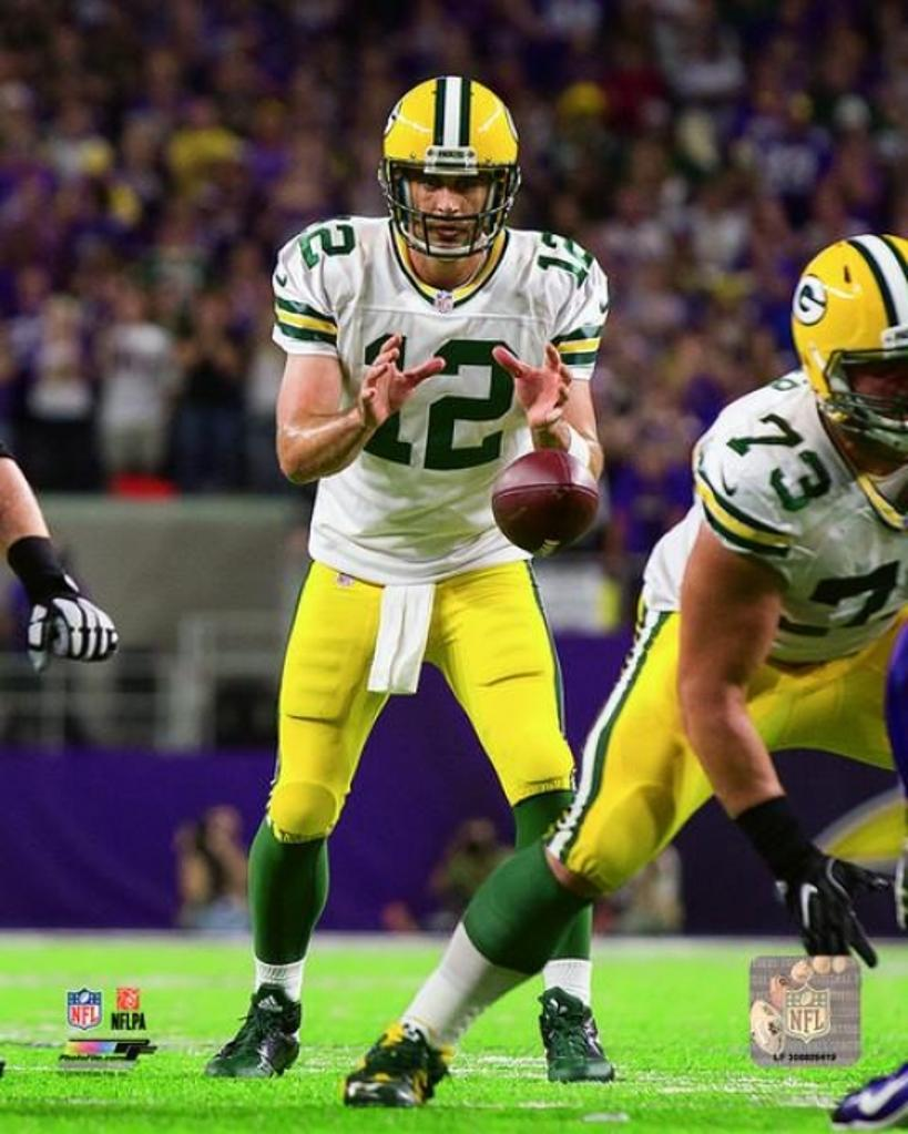 Aaron Rodgers 2016 Action Photo Print