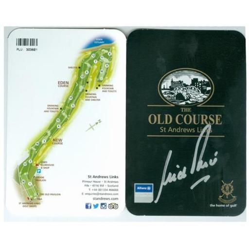 Autograph Warehouse 476841 Nick Price Autographed Scorecard - St. Andrews Old Course Golf Club