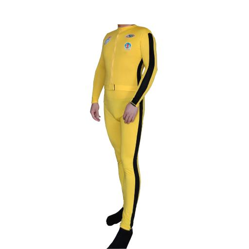 The Bride Costume With Patches Yellow Suit Deluxe Kill Spandex Beatrix Kiddo L265H1ONE8GS7IGI