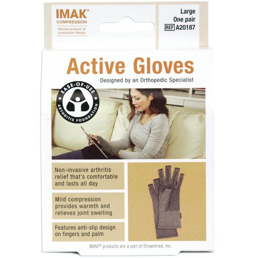 Complete Medical Imak Active Gloves Large (Pair)