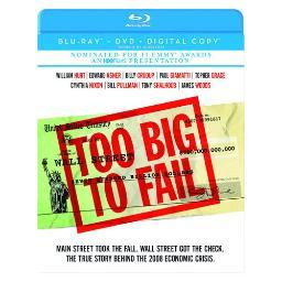Too big to fail (blu-ray/dvd/dc/2 disc) BR226404