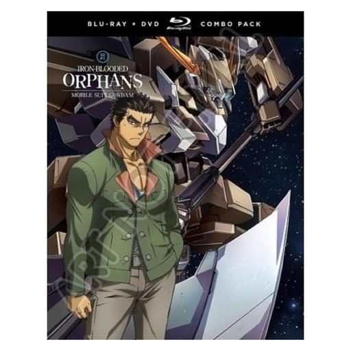 Mobile suit gundam-iron blooded orphans-season 2 part 1 (blu-ray/dvd combo)