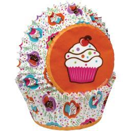 Standard Baking Cups Cupcake Party 75/Pkg W4150509