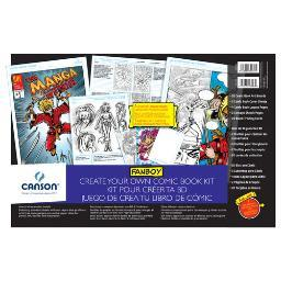 Canson/Fila Co 100510884 Create Your Own Comic Book Gift Set