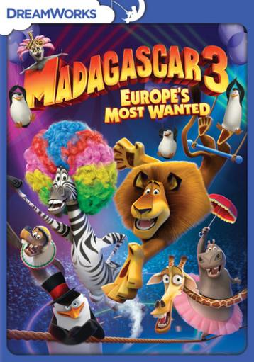 Madagascar 3-europes most wanted (dvd) 746VFD56IPEBP4DD