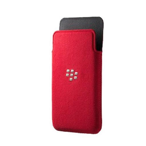 Blackberry ACC-49282-302 Z10 Microfiber Pocket - Red