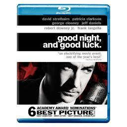 Good night & good luck (blu-ray/ws-1.85/eng-fr-sp sub) BR82842