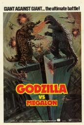 Godzilla vs. Megalon Movie Poster Print (27 x 40) MOVAI9132