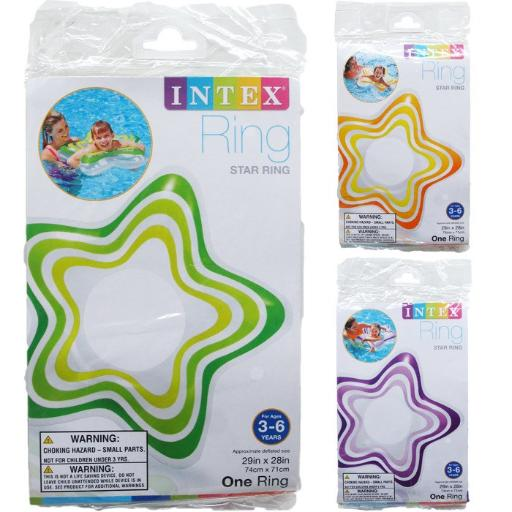 Intex Inflatable Star Rings(Pack Of 36)