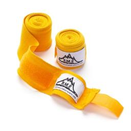 Black Mountain Products Boxing Wraps Yellow Professional Grade Boxing & Mma Hand Wrist Wraps, Yellow