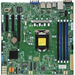 Supermicro - motherboards mbd-x11scl-f-o c242 lga1151 4x ddr4 2666mhz