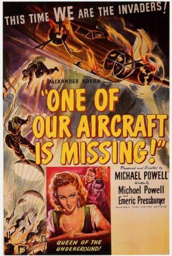 One of Our Aircraft Is Missing Movie Poster Print (27 x 40) CHGGF8RCCOHJZLHH
