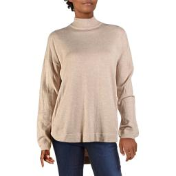 Cyrus Womens Knit Ribbed Trim Pullover Sweater
