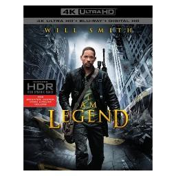 I am legend (blu-ray/4k-uhd/2 disc) BR594085