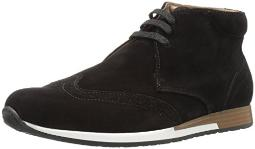 Bugatchi Men's Portofino Chukka Boot, Nero, 8 M US
