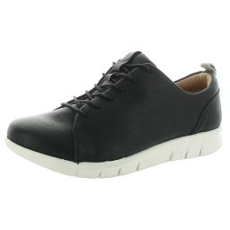 Comfortiva Womens Cayson Leather Lifestyle Sneakers