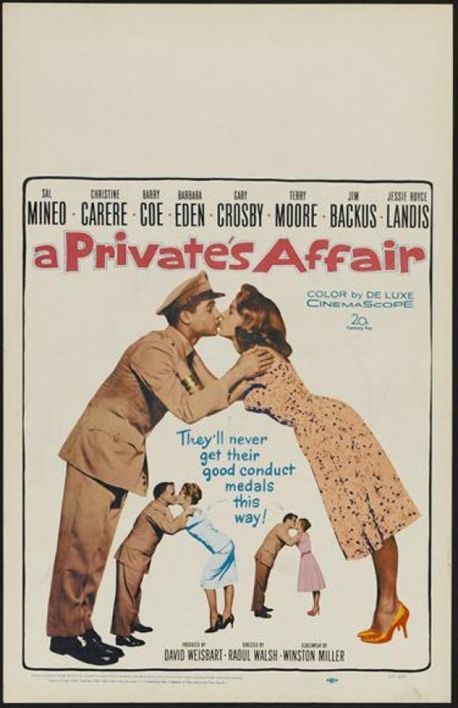 A Private's Affair Movie Poster (11 x 17)